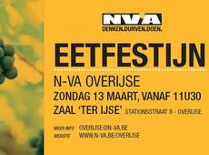 eetfestijn N-VA Overijse 2016